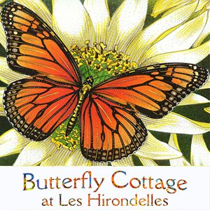 Romantic Cottage Dordogne, Butterfly Cottage Logo