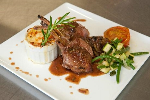 Private Chef - Lamb Chops and Potato Au Gratin